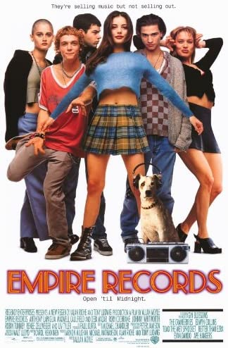 Amazon.com: (27x40) Empire Records Movie, Group, Original Poster ...