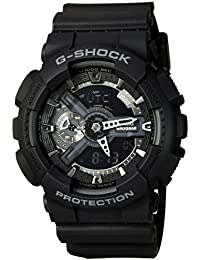 G-Shock X-Large Display Stealth Black Watch (GA110-1B) - Water and Shock Resistant