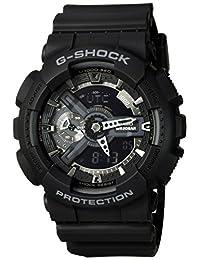 Casio Men's G-Shock GA110-1B Digital Resin Quartz Watch