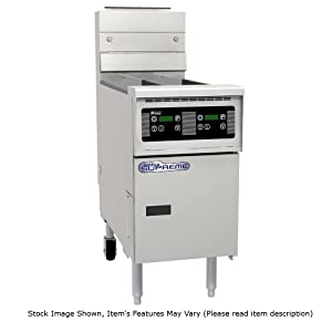 Pitco SSH55R Solstice Supreme High Efficiency Gas Fryer 40-50 lb Oil Capacity 100,000 BTU