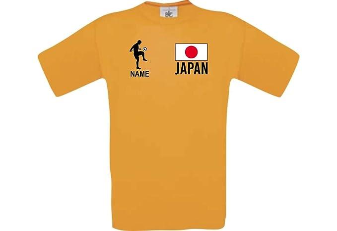 Shirtstown Camiseta De Hombres Camiseta de Fútbol Japón con Su Nombre  Deseado Estampado  Amazon.es  Ropa y accesorios 5903f5f59037a