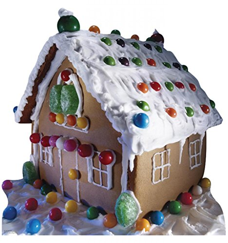 Gingerbread House - Advanced Graphics Life Size Cardboard Standup