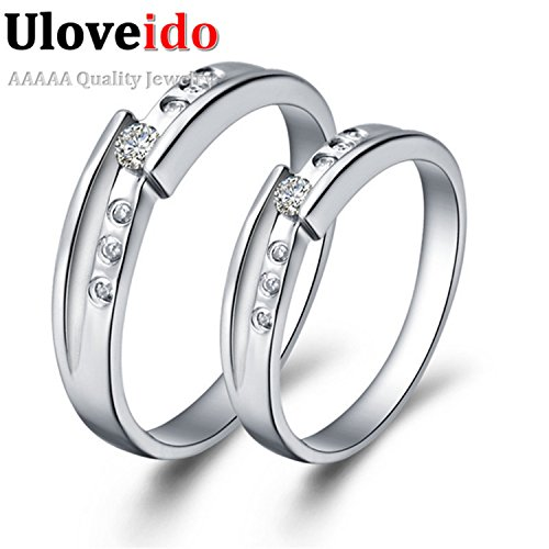 Myn Jewelry Summer Style Engagement CZ Ring Silver Plated topaze mystique Ring Women de Boda Wedding J033
