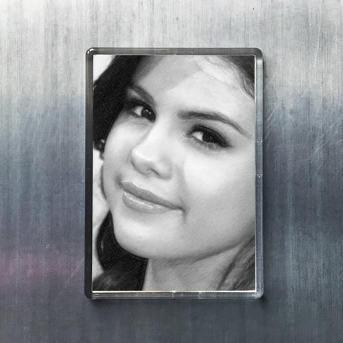 - Seasons Selena Gomez - Original Art Fridge Magnet #js002