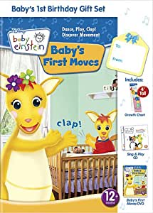 Baby Einstein: Baby's First Birthday Gift Set W CD and Growth Chart