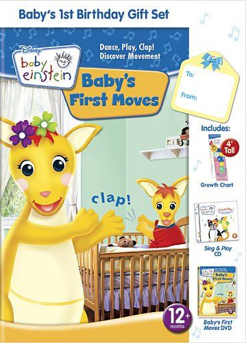 Baby Einstein: Baby's First Birthday Gift Set W CD and Growth Chart (Baby First Tv Growth Chart)