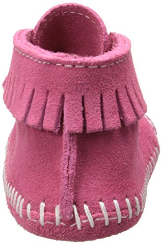 MINNETONKA - Front Strap Bootie - Rose