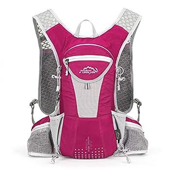 Mochila Impermeable para Bicicleta, Bolsa de Agua de Fila Mochila de Moda Deportes al Aire Libre Cruzada, Rosa: Amazon.es: Deportes y aire libre
