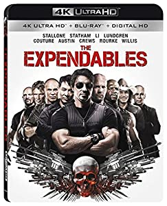 Cover Image for 'The Expendables 4K Ultra HD [Blu-ray + Digital HD]'