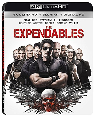 4K Blu-ray : The Expendables (With Blu-Ray, 4K Mastering, Digitally Mastered in HD, Widescreen, 2 Pack)