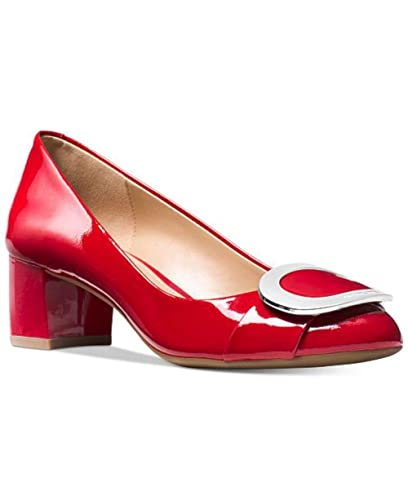 0a11ecc330da Michael Michael Kors Womens Pauline Leather Closed Toe