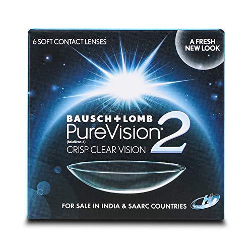 Bausch & Lomb Pure Vision 2 Contact Lense – 6 Pieces