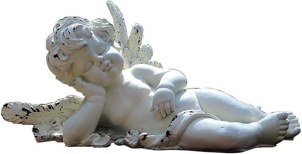 彫刻ガーデンテラスランドスケープデコレーション芝生デコレーション屋外キューピッドエンジェルヴィラガーデン中庭 HUXIUPING