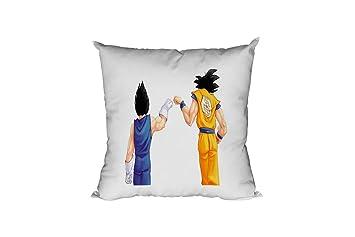 JEMASHOP COJIN 40x40 cm Dragon Ball. Bola DE Dragon. Goku ...
