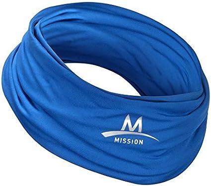MISSION Enduracool Kühl Tuch Cooling Bandana Stirnband Kopftuch Kühlhandtuch
