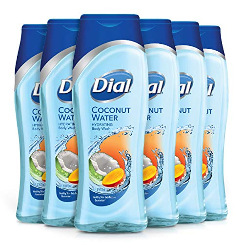 Dial Body Wash, Coconut Water Mango, 16 Ounces Pack of 6