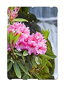 Fashion Tpu Case For Ipad 2/3/4- Pink Flowers Defender Case Cover For Lovers