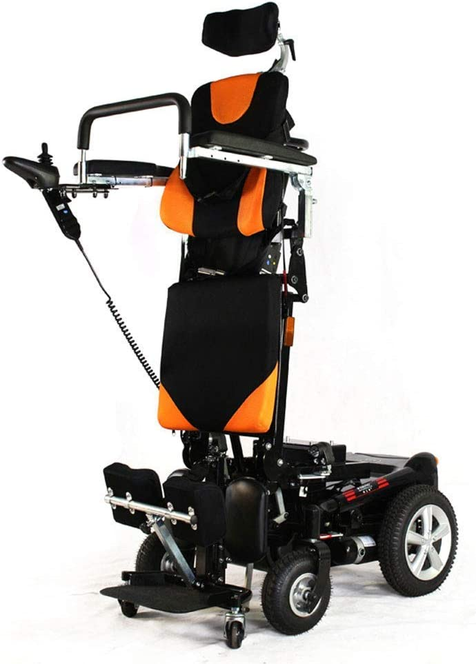CHAIR Ancianos personas con discapacidad pueden hacer frente y hacia abajo y Lay sillas de ruedas eléctricas, sillas de ruedas eléctricos que se colocan Yu