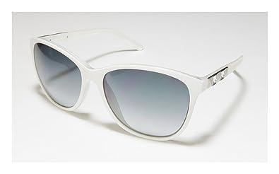 Amazon.com: Guess anteojos de sol GU 7283 WHT-35 acetato de ...