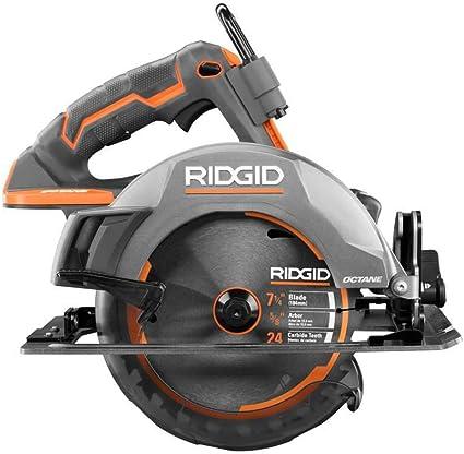 Amazon Com Ridgid Octane 18v Cordless Brushless 7 1 4 Inch Circular Saw Tool Only Home Improvement