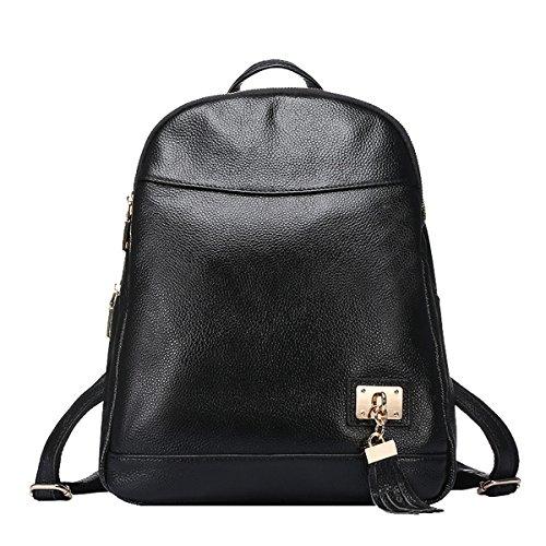 E-Girl - Bolso mochila de Piel Lisa para mujer Medium 0716-a