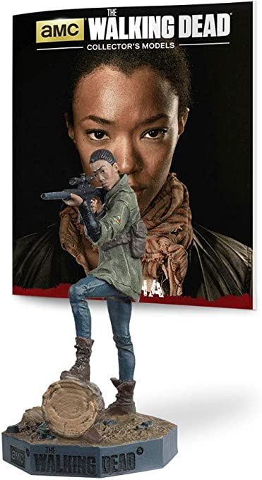 "Eaglemoss TWD #33 WALKER SASHA The Walking Dead Collectors Models 3.5"" Figure"