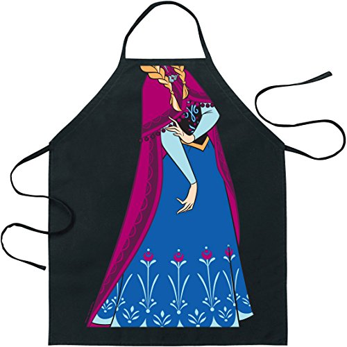 ICUP Disney Anna Character Apron, Clear (Adult Disney Characters)