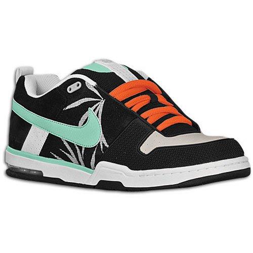 Nike Women's Air Max Run Lite 5 Running Shoe B001OTC3O2 11 D(M) US Black/Mint Granite/Orange Blaze