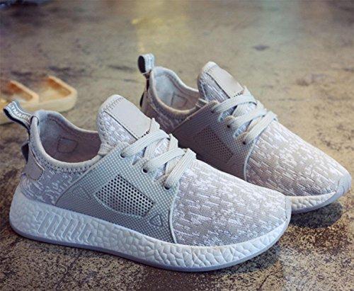 Mei Herbst Damen Sport Schuhe Leichtes atmungsaktives Casual Schuhe Student Running Schuhe Net Schuhe, US6,5
