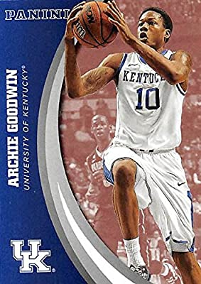 Archie Goodwin basketball card (Kentucky Wildcats) 2016 Panini Team Collection #34