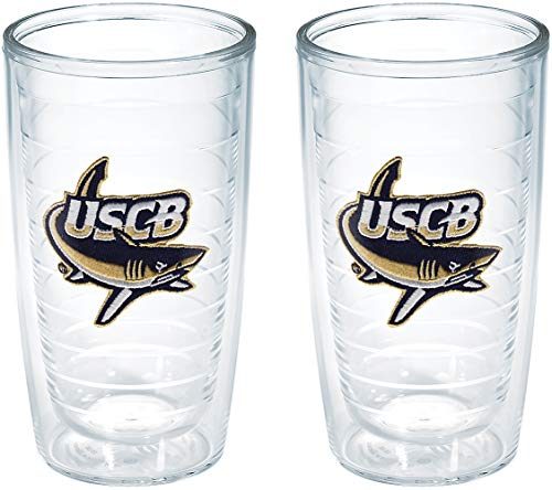 Tervis South California University Beaufort Emblem Tumbler (Set of 2), 16 oz, - 16 California Tumbler Ounce