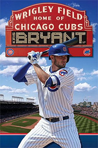 Kris Bryant - Poster - Cubs Mlb Rolled Official Licensed New Sealed