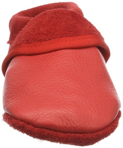 Pololo Klassik Unisex-Kinder Flache Hausschuhe Rot