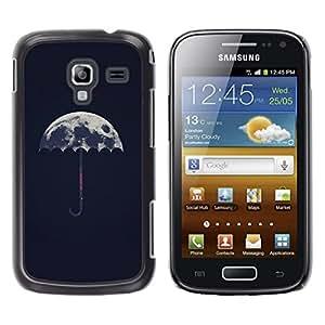 iKiki Tech / Estuche rígido - Meaning Artistic Umbrella Rain - Samsung Galaxy Ace 2 I8160 Ace II X S7560M