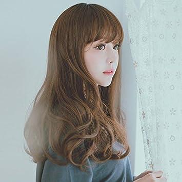 Amazon South Korean Women Girls Female Short Hair Slightly