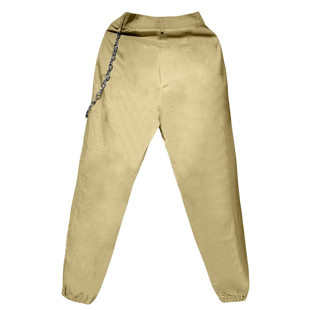 YanHoo - Pantalones Cargo de Mujer de Hippy, chándal de Deporte ...