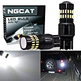 NGCAT 1200LM Xenon White 7443 LED Bulbs Extremely Bright 48-SMD 4014 LED Chipsets T20 7444NA 7440 7440NA 7441 992 LED Bulbs with Projector for Turn Signal Lights Tail Backup Reverse Lights(Pack of 2)