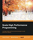 img - for Scala High Performance Programming book / textbook / text book