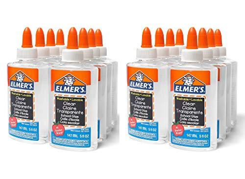 Elmer's Clear Glue (Elmer's Clear School Glue, 5 Ounces (16-Pack) E305 (16))