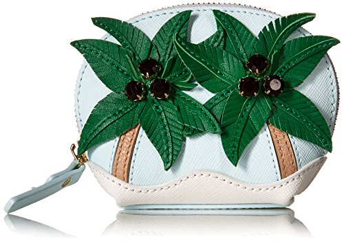 Kate Spade New York Women's Palm Tree Coin Purse, Multi, One Size (Palm Tree Purse)
