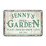 Showcase These HERB GARDEN SIGNS And Make It Appealing And Interesting.