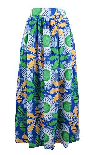 Novias Boutique - Falda - trapecio - Mujer Green Flower