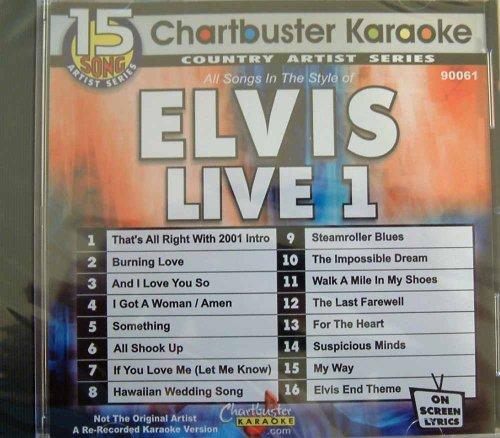 Karaoke: Elvis Live 1 by
