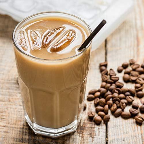nu3 Fit Shake sabor Café Helado - 450g - 71% de proteína de leche y colágeno - Bajo en azúcar y grasa - Solo 110 kcal - 10% de fibra + vitaminas y ...
