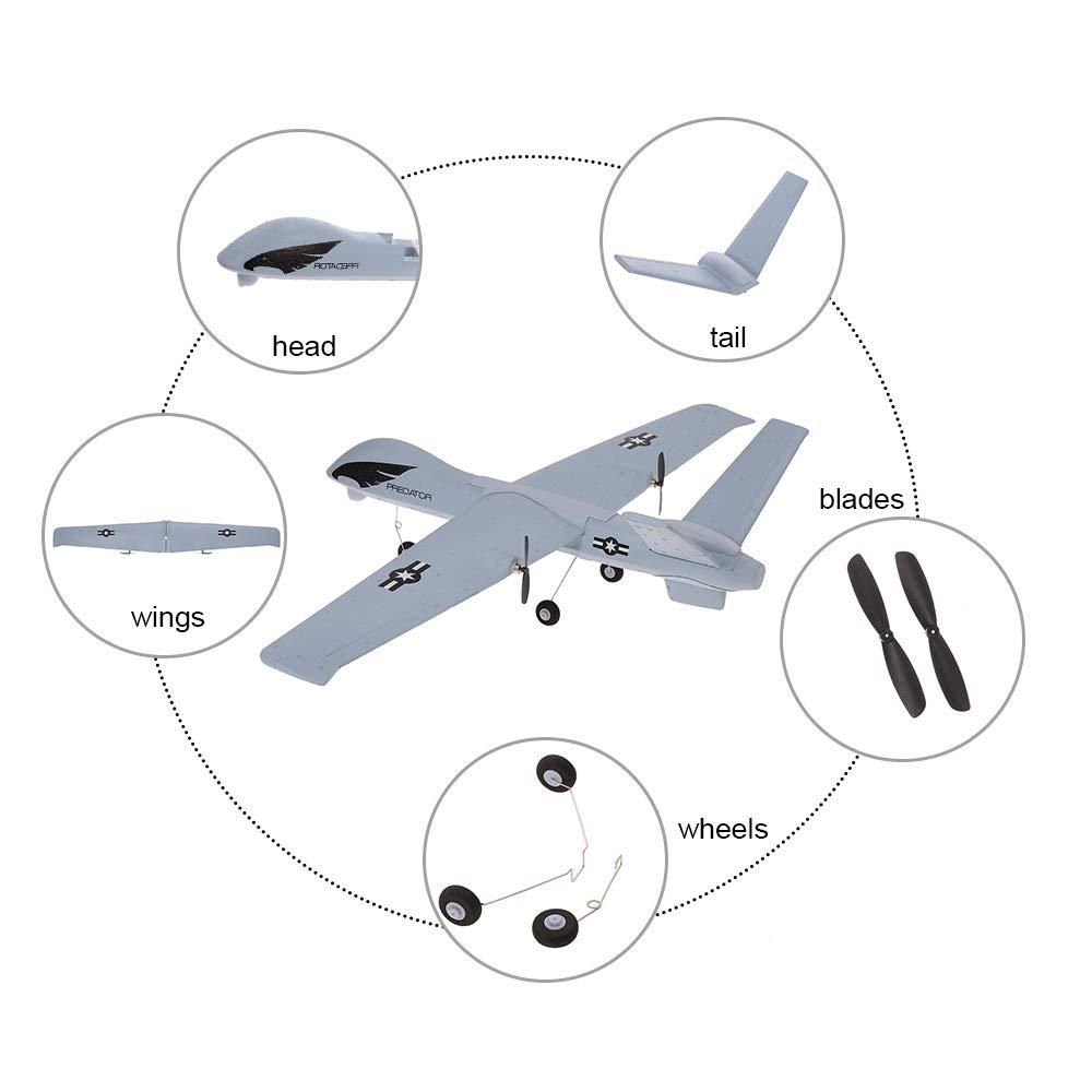 Amazon.com: Goolsky Z51 Drone 2.4G 2CH Predator Control ...