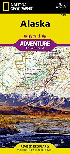 Alaska (National Geographic Adventure Map)