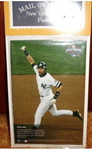New York Yankees Mail the Moments Post Cards Complete Set (CT-10) - 4x6 Size - Includes Mariano Rivera, Alex Rodriguez, David Cone, Joe Torre, Hideki Matsui, Derek Jeter & More - New York Yankees from Steiner Sports