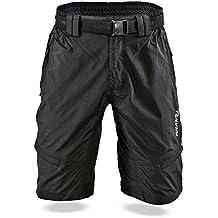 SILVINI Mountain Bike Shorts for Men MTB Cycling   Heavy-Duty & Breathable Material   6 Deep Pockets   Rango MP857