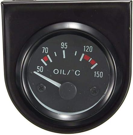 Yongse Universal Auto Zeiger Öltemperatur Temperaturanzeige Elektronik