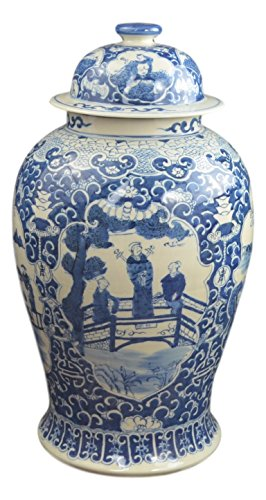 Antique Chinese Ginger Jars (19
